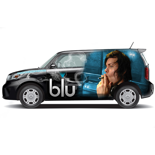 Blucigs Automobile Decal Wrap